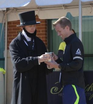 Abe and award