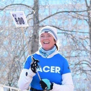 Linda Word, pace crew captain